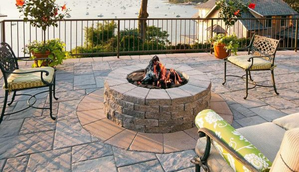 Valencia firepit, Techo Bloc, Fire pits, grills, inserts, landscaping products, 2