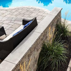York cap, techo bloc caps, retaining wall systems, landscaping products