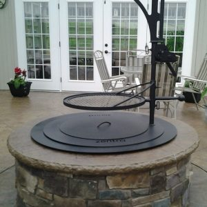 Zentro smoke less fire pit, grills and inserts, fire pits, landscaping products