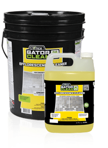 gator efflorescence cleaner, pavers sealers and cleaners, concrete pavers, landscaping products