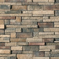 Cultured Stone Manufactured Stone Veneer, drystack ledgestone, Stone Veneers