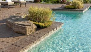 PORTOFINO coping, concrete curbing and coping, pavers, landscaping products