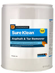 Sure Klean Asphalt and Tar remover, ProSoCo, cleaning old and new masonry, masonry repair