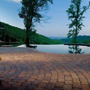 Bergerac Classic, concrete pavers, landscaping