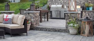 Catalina Slate, concrete pavers, landscaping