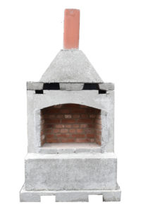 Small Precast Fireplace, Firepits, Grills, Inserts, Landscaping