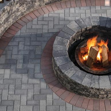 Holland Stone, belgard, concrete pavers, landscaping