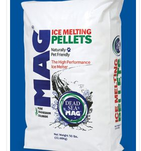 Mag, ice melt, landscaping