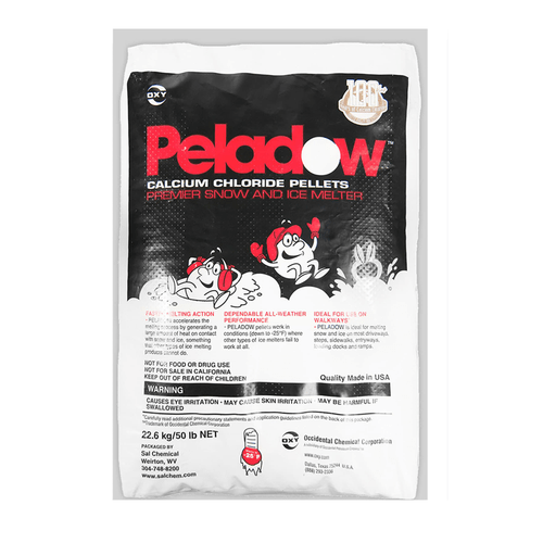 Peladow, ice melt, landscaping