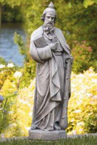 St. Jude garden statue by Massarelli, religious, statuary