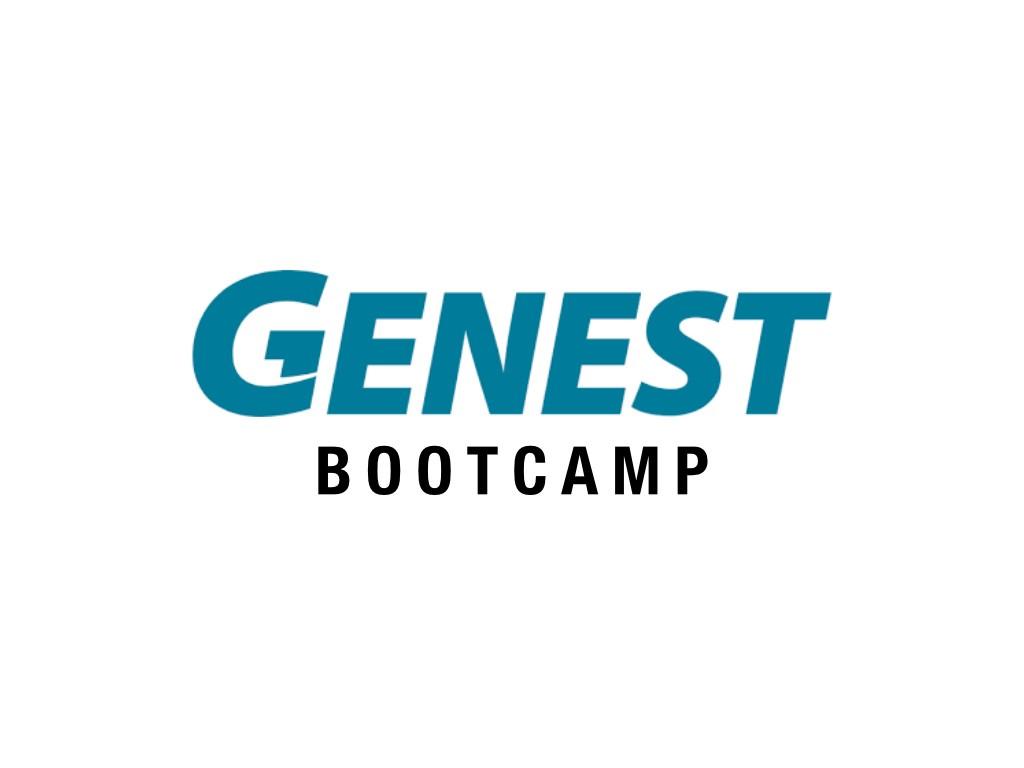Genest Concrete 2020 Bootcamp