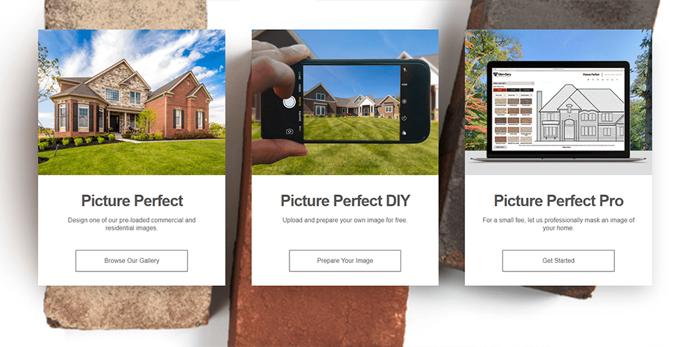 Glen Gery Virtual Design Tool