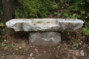 New England Stone Bench