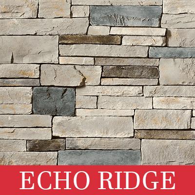 cultured stone echo ridge