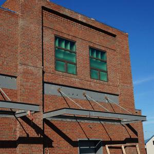 Camden building veneer