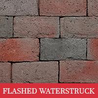 Flashed Waterstruck Brick